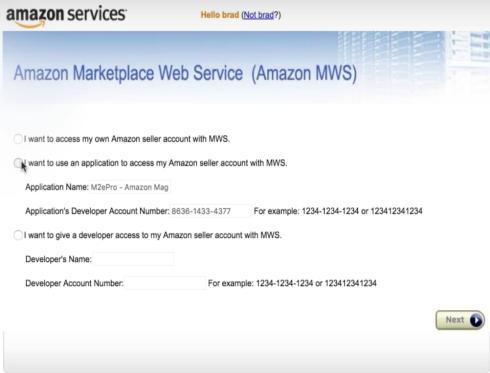 m2e Amazon Magento