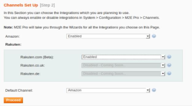 m2e Konfiguration Magento